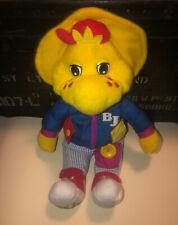 "VINTAGE 1994 Playskool Barney Talk 'N Dress BJ 18"" Talking Plush with Outfit"