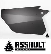 Assault Industries F-22 Doors - Black for 2017-2018 Can Am Maverick X3 2 Seater