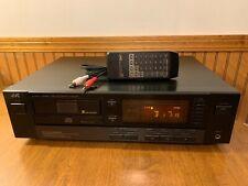 JVC XL-M403BK 6 Disc Magazine + 1 CD Changer Player w Remote Cable