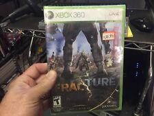 Fracture (Microsoft Xbox 360, 2008) new