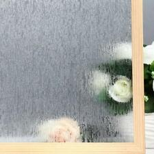 "VELIMAX Static Cling Rain Glass Removable Window Film  Anti UV Heat 23.6""x78.7"""