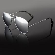 f878aa8fd3e Aviator Sunglasses Vintage Mirror Lens New Men Women Fashion Frame Retro  Pilot