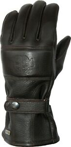 ESKA Chocolate Brown Motorcycle Gloves RRP £169 FAST & FREE UK DELIVERY