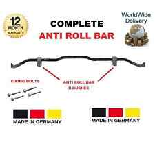 FOR VW VOLKSWAGEN SCIROCCO 137 138 2008 >ON COMPLETE ANTI ROLL BAR + D BUSHES