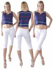 105* Damen Caprihose Damenjeans Hose Jeans  3/4 Hose