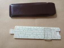 Calcolo Abakus Regolo Calcolatore Calcolatrice Originale Vecchio circa 1920