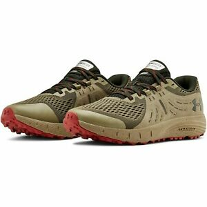Under Armour 3021951 Men's Green UA Charged Bandit Trail Hiking Shoes, Size 8