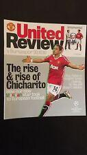 Football Programmes European Champions League Man United V Bursaaspor 2010/11