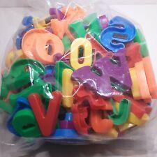 Lot of Magnetic Alphabet Letters Bag 14 Ounces