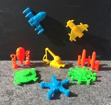 R&L SPACE EXPLORER UFOs CEREAL TOYS REPROS | Cake Toppers Party Favours Lot2