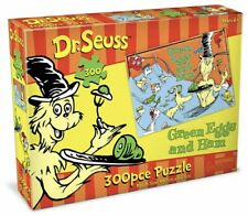 Dr Seuss Jigsaw 300pc Puzzle Green Eggs and Ham Kids 6y 60.5 X 45.5cm