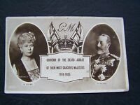 POSTCARD, ROYALTY, EXCEL, KING GEORGE V, QUEEN MARY, 30's, VINTAGE ATTIC FIND