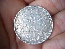 SILVER Rara India alta qualità 1 RUPIA MEDAGLIA DATATO 1880 MEDAGLIA COLLECTION trovare