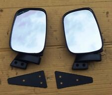 FITS DATSUN NISSAN URVAN E23 MODEL 1980 86 VAN DOOR PAIR MIRROR LEFT RIGHT NEW