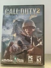 Call of Duty 2 (2005) Complete PC CD-ROM Game 6 Disc Set