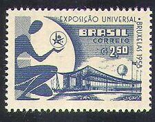 Brazil 1958 EXPO/Exhibition/Buildings/Architecture/Commerce 1v (n37339)