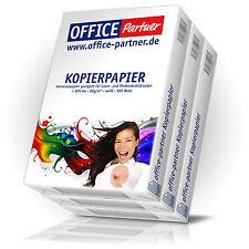 1500 Blatt OFFICE-Partner Premium Kopierpapier DIN A4 Papier 80g / m² weiß