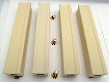 Kiln Posts 6 X 1 in Set of FOUR Fusing Furniture Slump Durable Ceramic Reusable