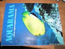 Aquarama n°82 Aquarium marin debutant Bassin Psammodromes Killies guyane BETTA