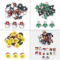 Resin Cabochons Self Adhesive - Various Sizes & Designs- Santa Christmas Snowman
