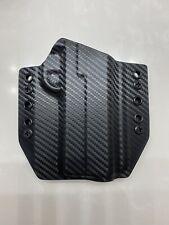 """Black Carbon Fiber Kydex Holster For 4.25"""" 1911 #14"""