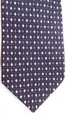 "Bergamo Men's Silk Tie 58.5"" X 3.75"" Multi-Color Geometric"