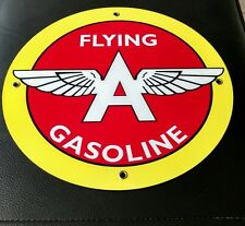 Flying A Motor Oil Gas gasoline sign