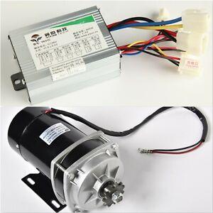 Motor w CONTROLLER 800 W 36V Gear Reduction 6:1 electric f eATV GoKart Trike DIY