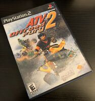 ATV OFFROAD FURY 2 COMPLETE (SONY PLAYSTATION 2, 2002, PS2) - FREE SHIPPING!