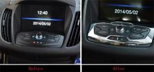 For Ford Escape Kuga 2013 2014 Chrome Center Control Panel Cover Trim