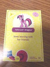 My Little Pony Twilight Sparkle Card #1