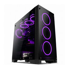 ABKO SUITMASTER 801G RGB Control 3 Side tempered Glass Big Tower Computer Case