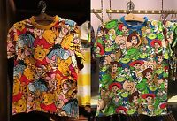 Tokyo Disney Resort T-Shirts Pooh Friends Toy Story S-LL Size JAPAN TDR