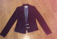GUESS dark wash denim jean jacket size Medium