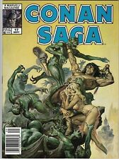 Marvel = Conan Saga Comics - Issue 17 - bagged/boarded - 9.2 - Norem