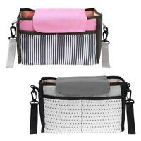 Baby Diaper Storage Bags Large Capacity Mummy Bag Baby Stroller Accessories