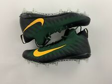 Nike Alpha Menace Size 18 Green Bay Packers Pro Mid Football Cleats Black Green