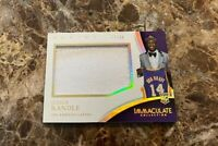 Julius Randle 2014-15 Panini Immaculate Player Caps Patch Rookie RC /35 #PC-JR