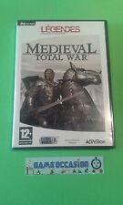 MEDIEVAL TOTAL WAR PC CD-ROM PAL