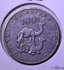 Afrique Djibouti 100 francs 1977 cu/nickel KM#26  AC68