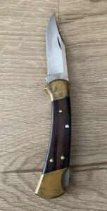 Preowned Buck 112 Lock Back Folding Pocket Knife Made In USA