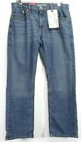 New Signature By Levi Mens S61 Modern Relaxed Stretch Denim Jeans 32 x 32