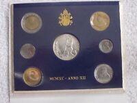 Vatican City 1990 Mint Set