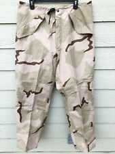 NEW USGI ECWCS GORE-TEX COLD WEATHER DESERT CAMOUFLAGE PANTS - MEDIUM REGULAR.