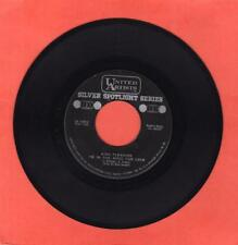 King Pleasure US 45 UA 1632 I'm In The Mood For Love / Don't Get Scared