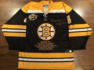 Bobby Orr Boston Bruins Signed Auto GNR Flying Goal 1970 Accolade Jersey LE GNR