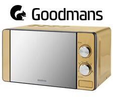 Goodmans GOLD Microwave - 700W - 20L - 6 heat settings - Mirrored Door