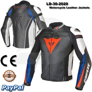 motogp New Motorbike Motorcycle Racing Leather jacket LD-30-2020 ( US 38-48 )