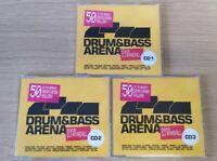 CD Album Bundle X 3 Drum & Bass Arena Mixed By DJ Randall 2004 Warner Music