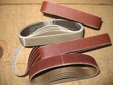 "1/2 x 10"" sanding belts Fits Darex Work Sharp knife Sharpener Model WSCMB"